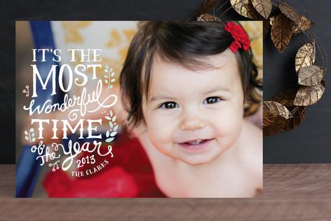 Most Wonderful Christmas Photo Cards