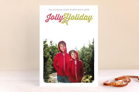 Jolly Christmas Photo Cards