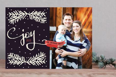 Cozy Joy Christmas Photo Cards