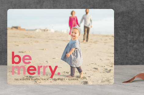 Cherry Merry Christmas Photo Cards