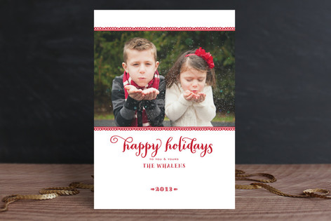 Believe in the Season Christmas Photo Cards