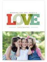 Joy Peace & Love by Morgan Newnham
