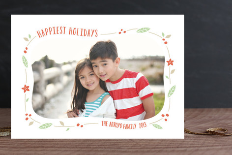 Festive Frame Christmas Photo Cards