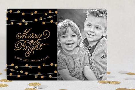 Christmas Twinkle Christmas Photo Cards