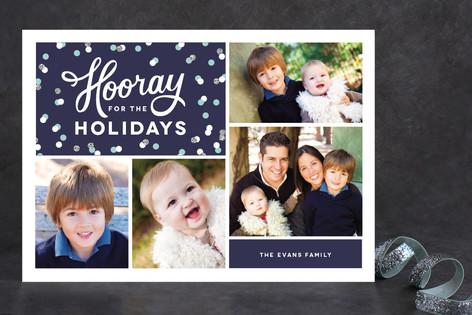 Hip Hip Hooray Christmas Photo Cards