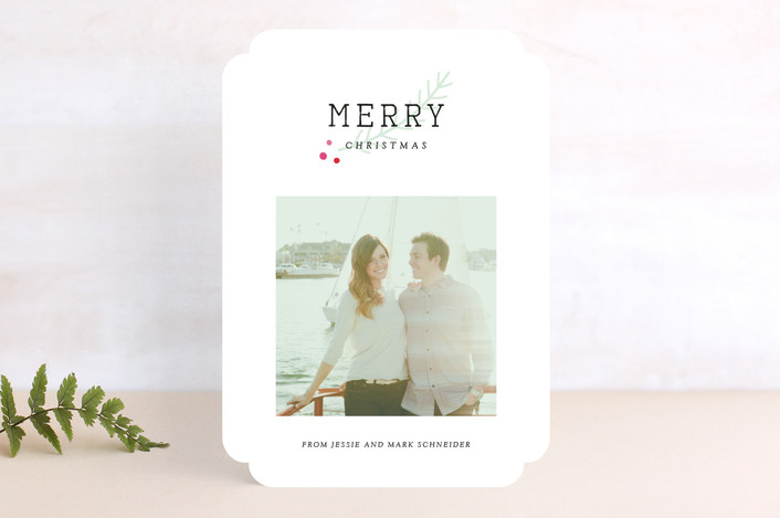 Frenchie Christmas Photo Card | Minted