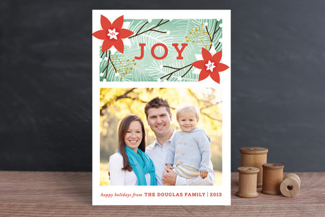Embrace Joy Christmas Photo Cards