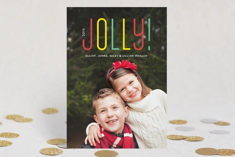 So Jolly Christmas Photo Cards