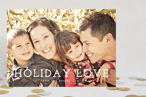 Share the Love Christmas Photo Cards