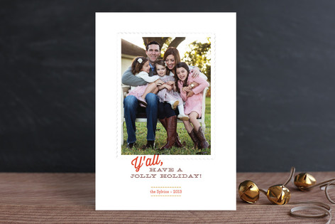Southern Comfort Christmas Photo Cards