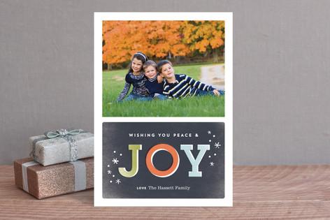 Nostalgic Joy Christmas Photo Cards