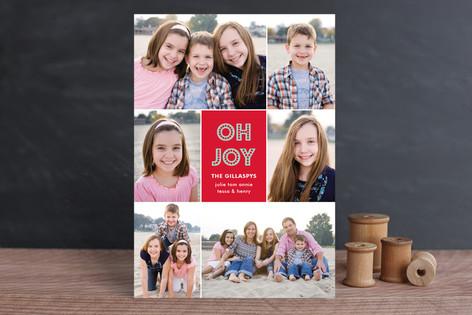 Joys of the Season Christmas Photo Cards