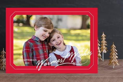 With Care Christmas Photo Cards