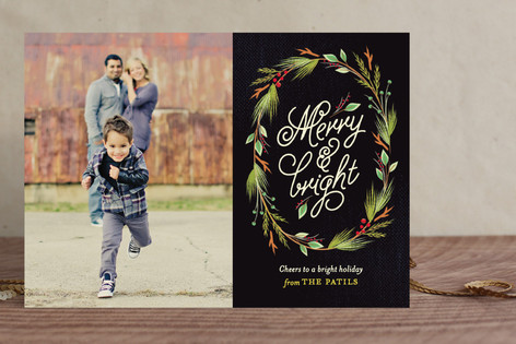 Currant & Juniper Christmas Photo Cards