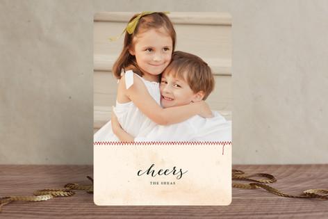 Seams like Christmas Christmas Photo Cards