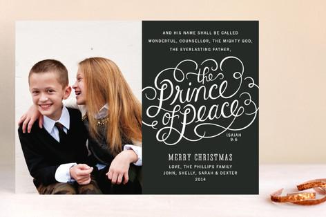 Prince of Peace Christmas Photo Cards
