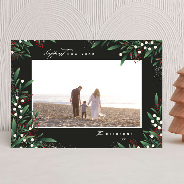 """Enchant"" - Christmas Photo Cards in Fir by Jennifer Postorino."