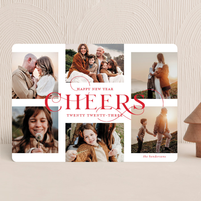 """""""Glorious Wonders"""" - Christmas Photo Cards in Ruby by Lauren Chism."""