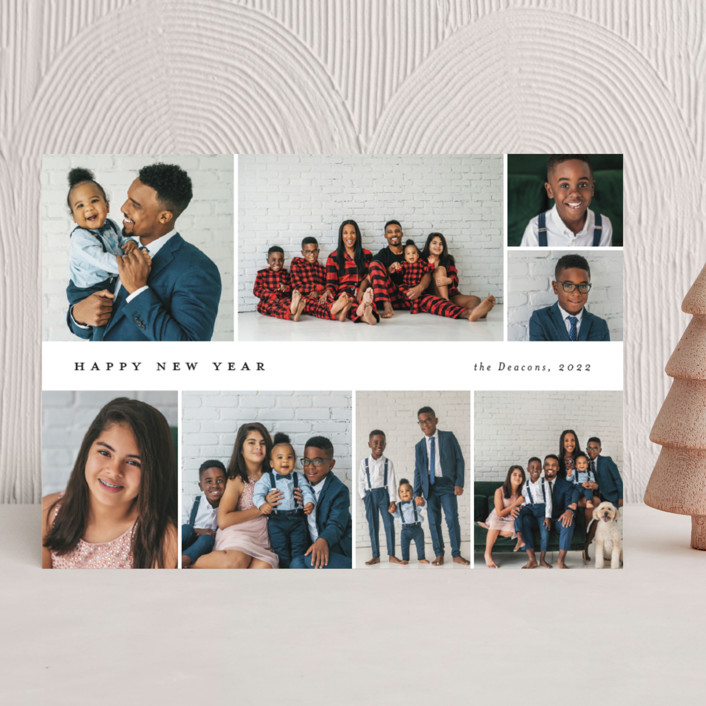 """""""Many memories"""" - Christmas Photo Cards in Cotton by Stacey Meacham."""