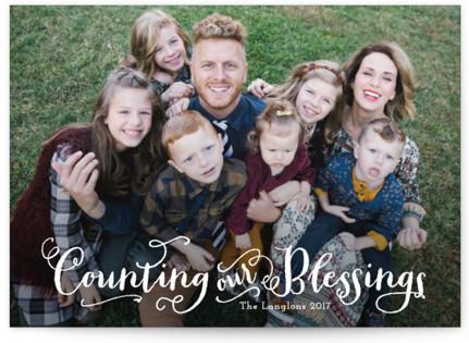 Grateful Christmas Photo Cards