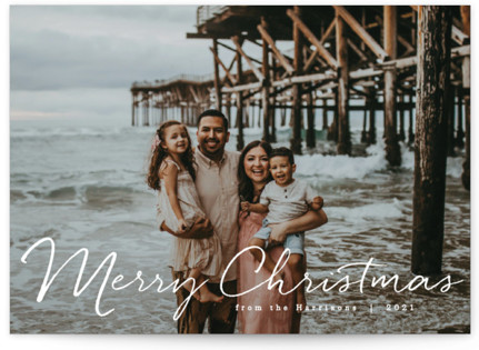 Praise be to God Christmas Photo Cards