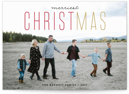 CHRISTmas Christmas Photo Cards