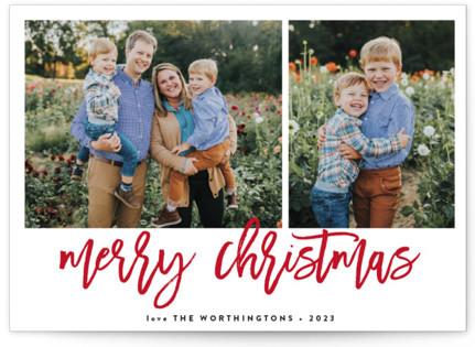Wonders Christmas Photo Cards