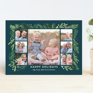 Branches Framed Christmas Photo Cards