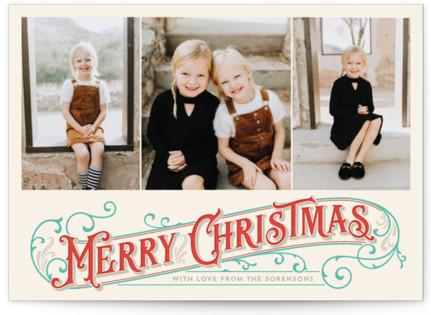 Antique Christmas Christmas Photo Cards