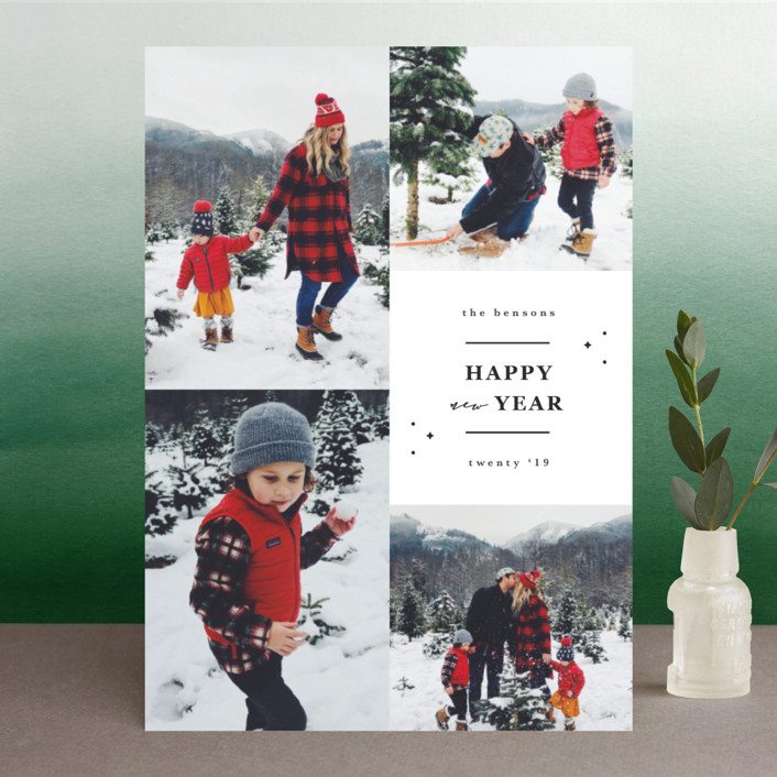 """Blessings of his love"" - Christmas Photo Cards in Warmth by Sweta Modi."