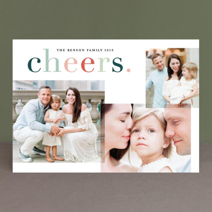 """""""Colorfully blessed"""" - Christmas Photo Cards in Cheerful by Sweta Modi."""