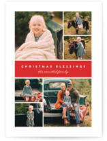 Many Christmas Blessings Christmas Photo Cards By Erica Krystek