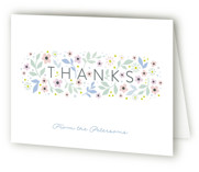 Sweet Blossoms Baptism and Christening Thank You Cards