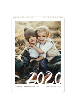 This is a white photo calendar by Jennifer Lew called Sincere Year Standard printing on premium calendar paper in standard.