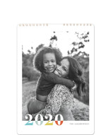 This is a colorful photo calendar by Snow and Ivy called Bountiful Joy Standard printing on premium calendar paper in standard.