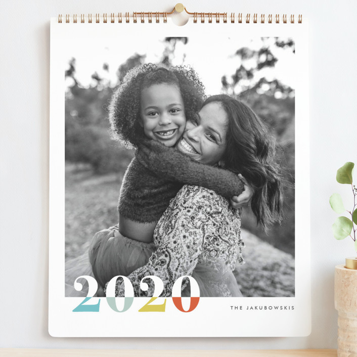 """Bountiful Joy Grand"" - Modern Photo Calendars in Sunshine by Snow and Ivy."