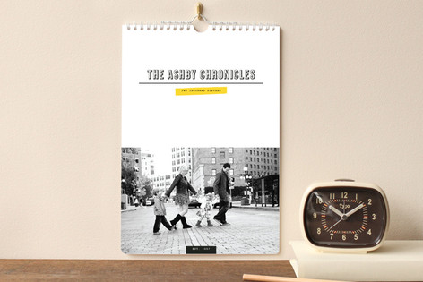 The Family Chronicles Standard Calendars