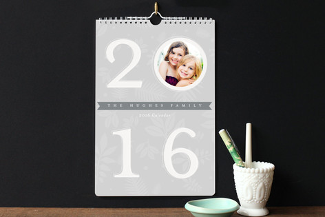 Turn Over a New Leaf Standard Calendars