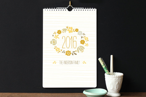 Blooming Standard Calendars