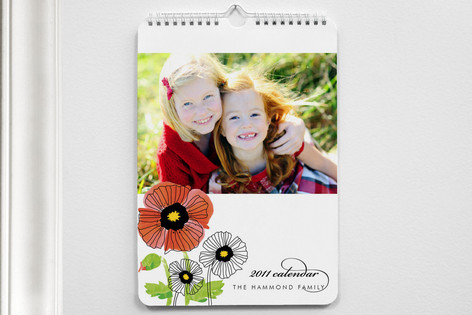 chic poppies Calendars