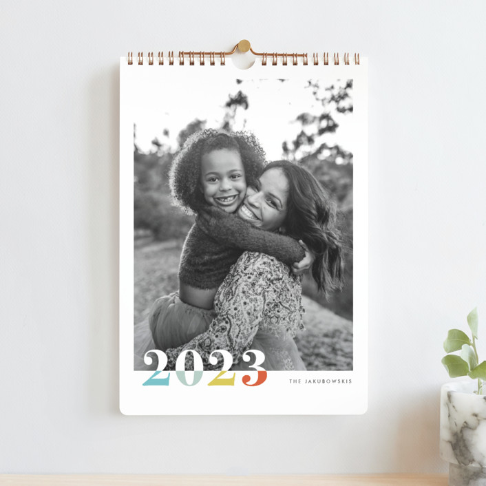 """bountiful joy"" - Modern Photo Calendars in Fete by Snow and Ivy."