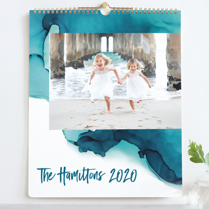 """""""Tides Grand"""" - Photo Calendars in Turquoise by Erin Deegan."""