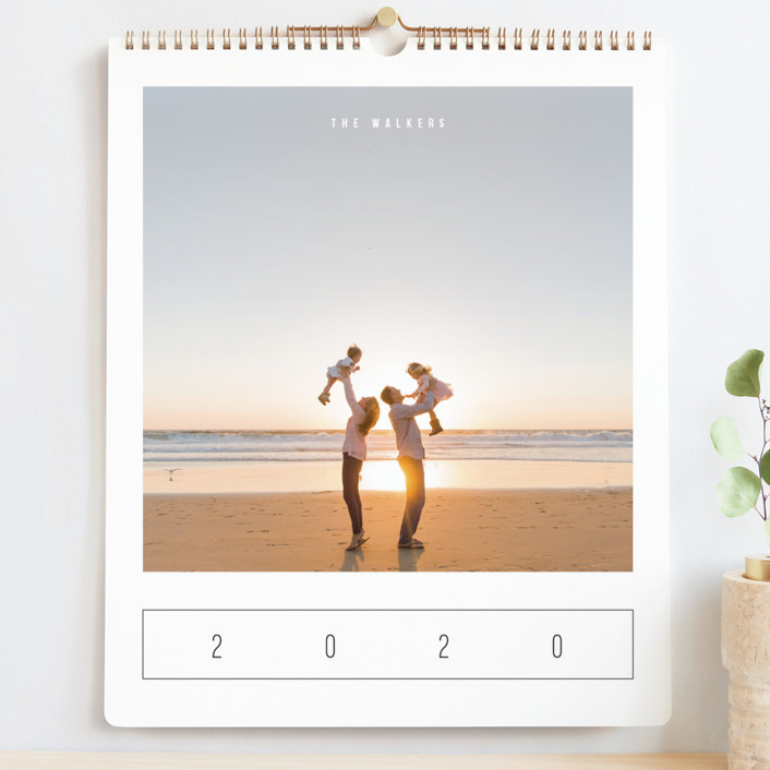 """Modern Watercolor Grand"" - Modern Photo Calendars in Sea by Playground Prints."