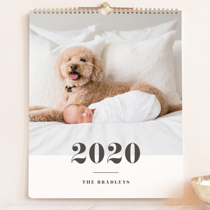 """Bold Classic Grand"" - Photo Calendars in Slate by Shirley Lin Schneider."