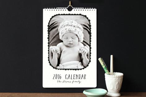 Scallops Standard Calendars