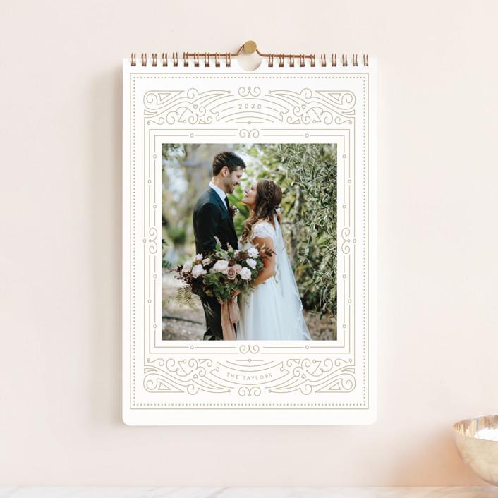 """Fancy Frame Standard"" - Photo Calendars in Nutmeg by Kristen Smith."
