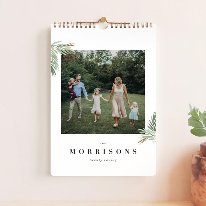 """Botanical Standard"" - Photo Calendars in Cotton by Kate Ahn."