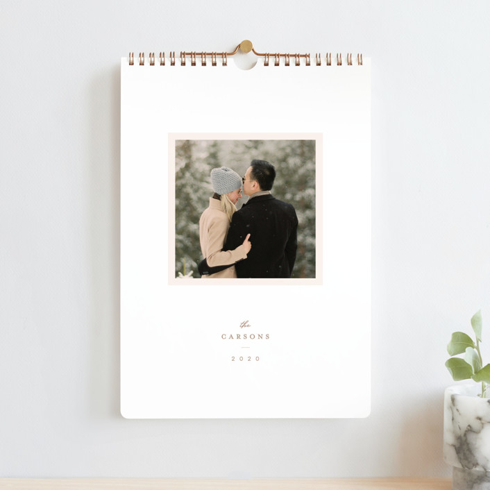 """Bright Standard"" - Photo Calendars in Peony by Lori Wemple."
