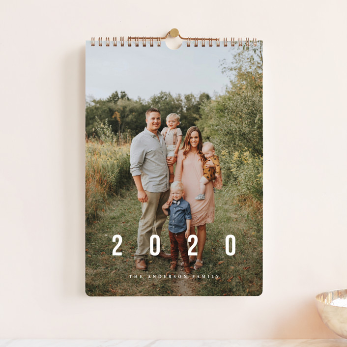 """""""New Adventures Standard"""" - Photo Calendars in Ivory by Playground Prints."""