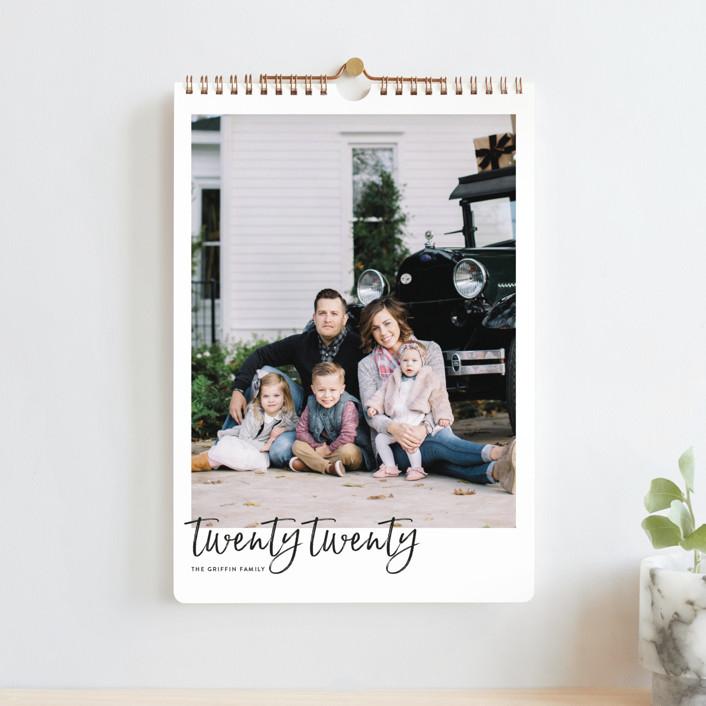 """""""Brushed Standard"""" - Photo Calendars in Chalkboard by JoAnn Jinks."""